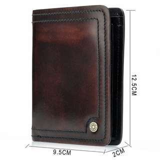 Genuine Leather Wallet for Men (PN004)