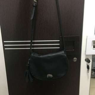 Sling bag Stradivarius Black (ORI)