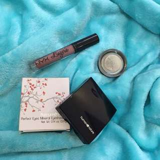 BUNDLE Nyx Lingerie, Maybelline Color Ink, Human Nature Mineral Eyeshadow