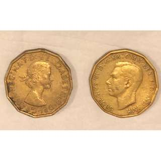 大英帝國多邊形硬幣。少有