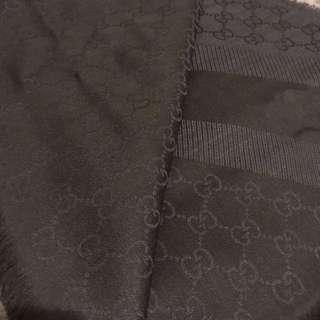 (New) Gucci 超靚dark blue scarf