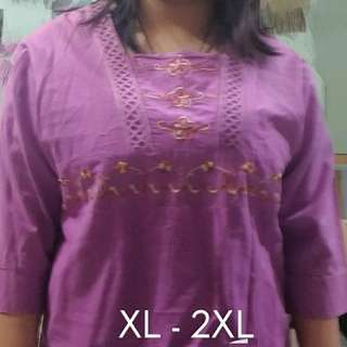 PLUS SIZE 3/4 Office Top