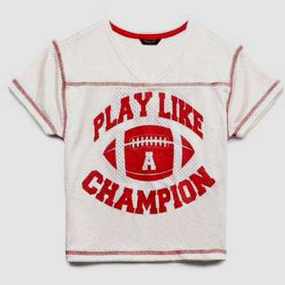 Forever 21 Kids Play Like A Champion Shirt