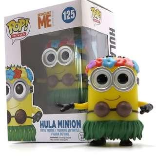 Funko pop despicable me hula minion