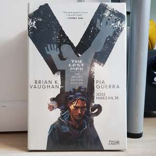 WTS The Last Man Deluxe Edition Vol. 1