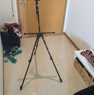 Art easel for painting - used