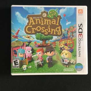 Nintendo 3DS 2DS animal crossing new leaf