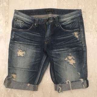 Denim Shorts (faded vintage wash)