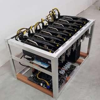 7 X RX580 GPU Mining Rig