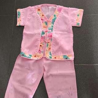 Baby Girl Traditional CNY Costume