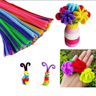 [100pcs]DIY plush materials toy for children or kids