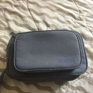 Guess pouch for toiletries or makeup