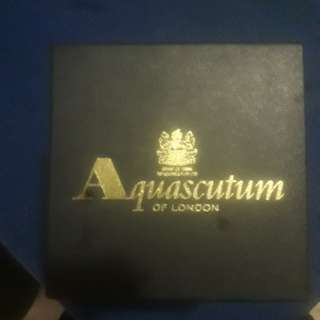AQUASCUTUM OF LONDON MANCHESTER UNITED CRYSTAL TROPHY
