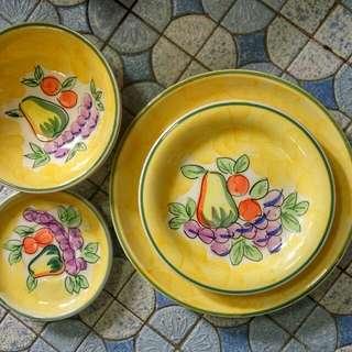 Big Plates and bowls