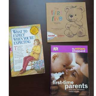 Pregnancy Books - What to expect when you're expecting and more