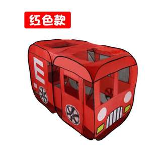 Red Bus Play Tent