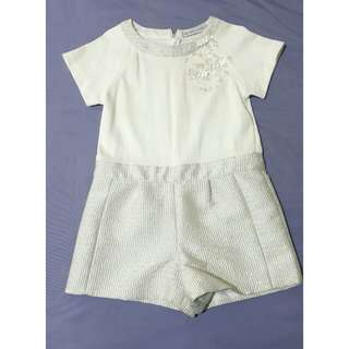 Gingersnaps White Dress Shorts 8T