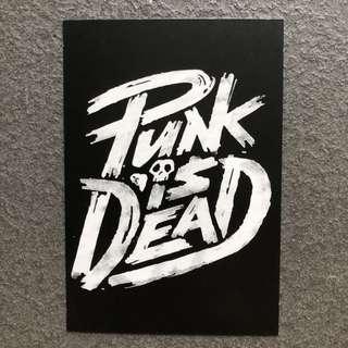 Typography Postcard