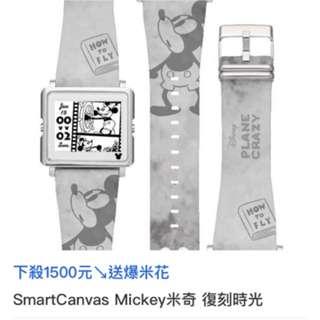 🚚 Epson 米老鼠限量復刻版手錶~~錶帶可換,附贈拉拉熊錶帶,原售價$3990