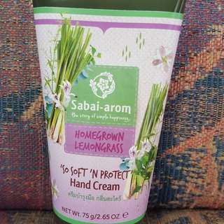 Homegrown Lemon Grass Hand Cream