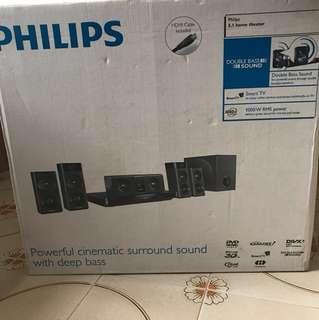 Philips Cinematic surround sound system