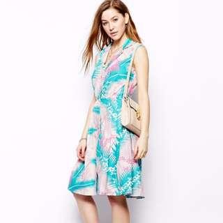 ASOS Emily & Fin Vintage Jessica Tea Dress