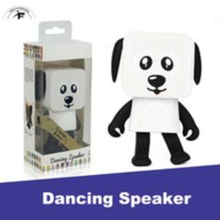 Valentines Gift! Mini Dancing Robert Bluetooth Stereo Speaker with Mic, Speaker Phone –call Function
