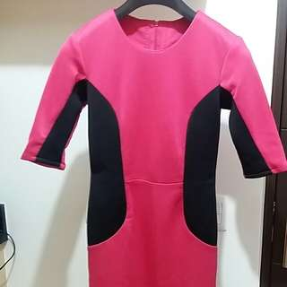 Custom tailored dress