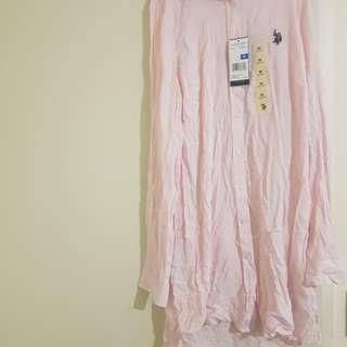 Brand new women pink polo design shirt