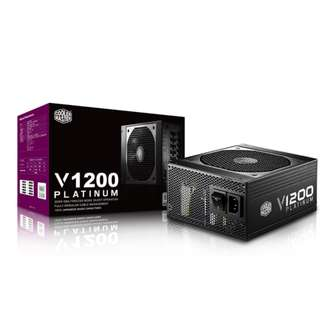 Cooler Master V1200 Platinum 1200W  Full Modular Coolermaster ( 7 yrs Local warranty )