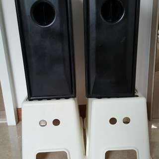 Mission Passive Subwoofer 73PS. 8 ohm, one pair.
