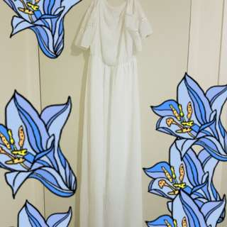 White dress new