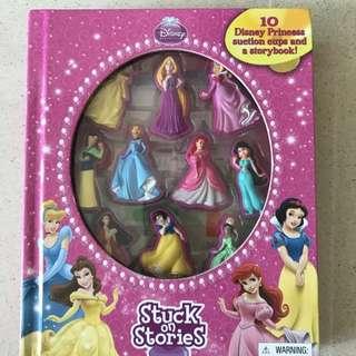 Disney Princess Suction Cup Figures