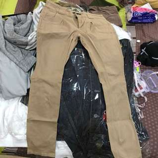 Brown pants cache