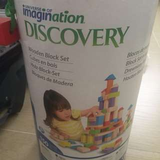 Imagination Discovery wooden blocks