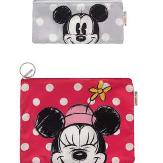 Cath Kidson Mickey Mouse pouches