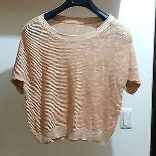 Knitted Peach Top