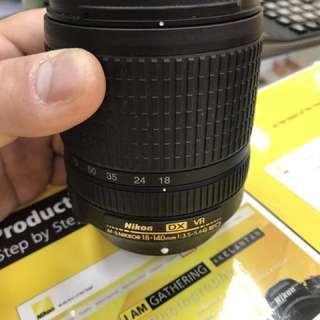 Nikon 18-140mm DX VR