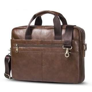 Genuine Leather Bag for Men (PN102)