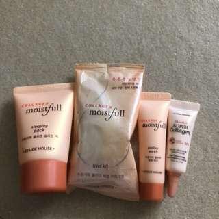 EtudeHouse Collagen Moistfull kit