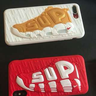 Casing iphone supreme X nike air limited