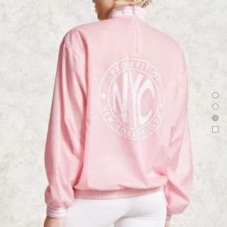 Forever 21 NY Graphic Windbreaker