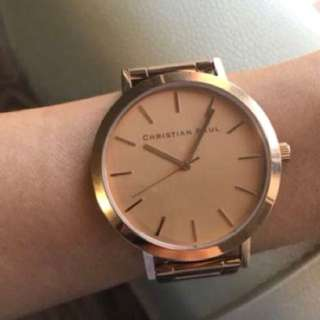 Christian Paul Rose Gold Watch