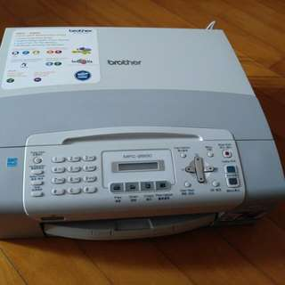 3in1 Brother Fax & Color & Scanner Printer