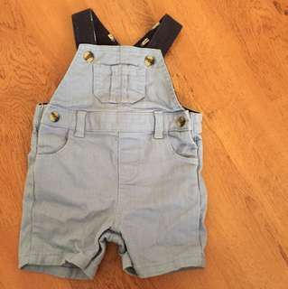 Mothercare Denim Overall