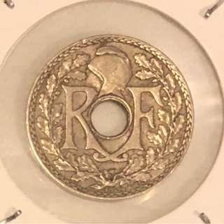 1938年法蘭西共和國硬幣