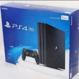 PS4 Pro 1TB Mint Condition full box