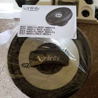 Infinity ref 6520cx and woofer