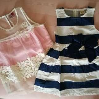 Chic dress & blouse