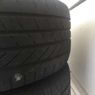 second tyre 215/55/17